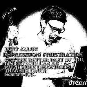 Depression frustrates