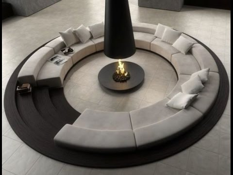 round sitting room cushion chairs