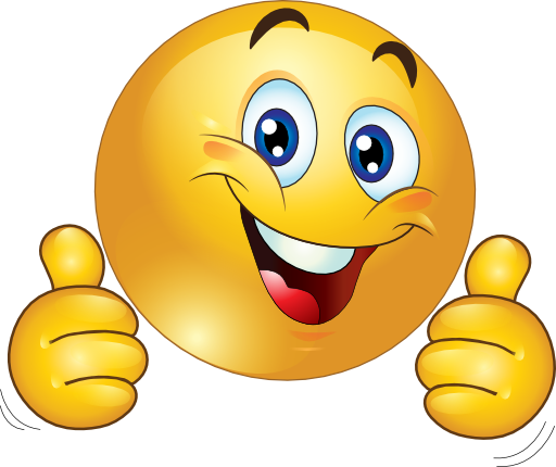Smiley Face Clip Art Thumbs Up Clipart Two Thumbs Up Happy Smiley Emoticon 512 512 Eec6 Summer Ice World