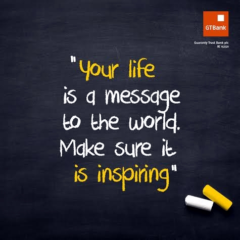your life is a message an inspiration an instrument.