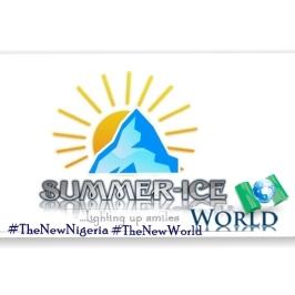 summer Ice new logo, plus # The New Nigeria, The New World symbol