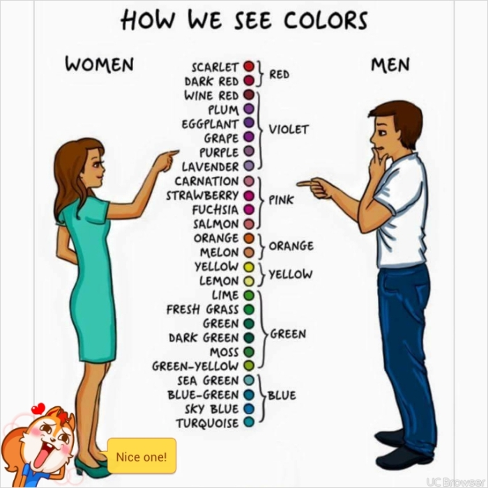 Differences between men and women2