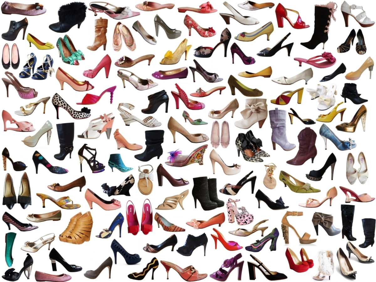 Types of shoes, sandals, heels, etc; Stop the errors, Learn the right name for each shoe type