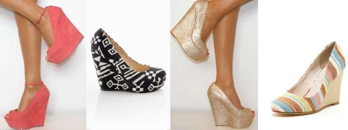 wedge-heels